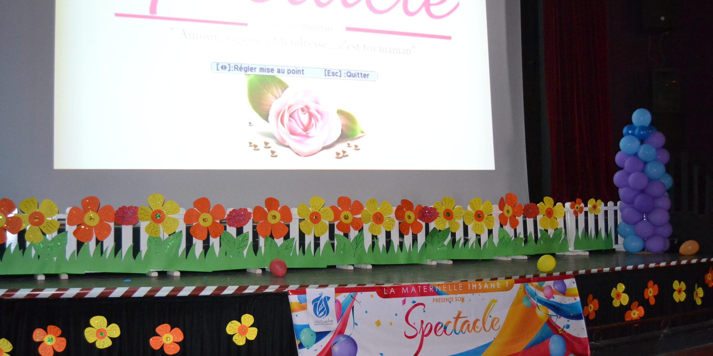 Spectacle Maternelle Fête Des Mères Les écoles Ihsane